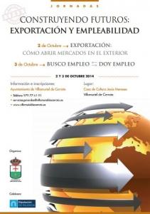 """Jornadas \\\""""Construyendo Futuros: Exportación y Empleabilidad\\\"""", en Villamuriel de Cerrato"""