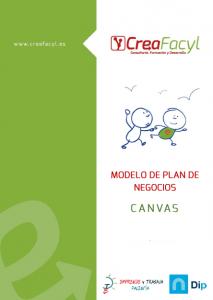 Modelo de Plan de Negocios Canvas de Creafacyl