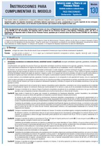 Modelo 130 - Impuesto sobre la renta de las personas físicas Creafacyl
