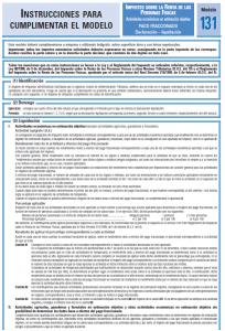 Modelo 131 - IMPUESTO SOBRE LA RENTA DE LAS PERSONAS FISICAS Creafacyl