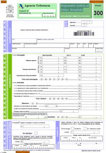 Modelo 300 - Impuesto sobre el Valor Añadido-2 Creafacyl