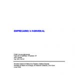 El Empresario/a Individual CreaFacyl