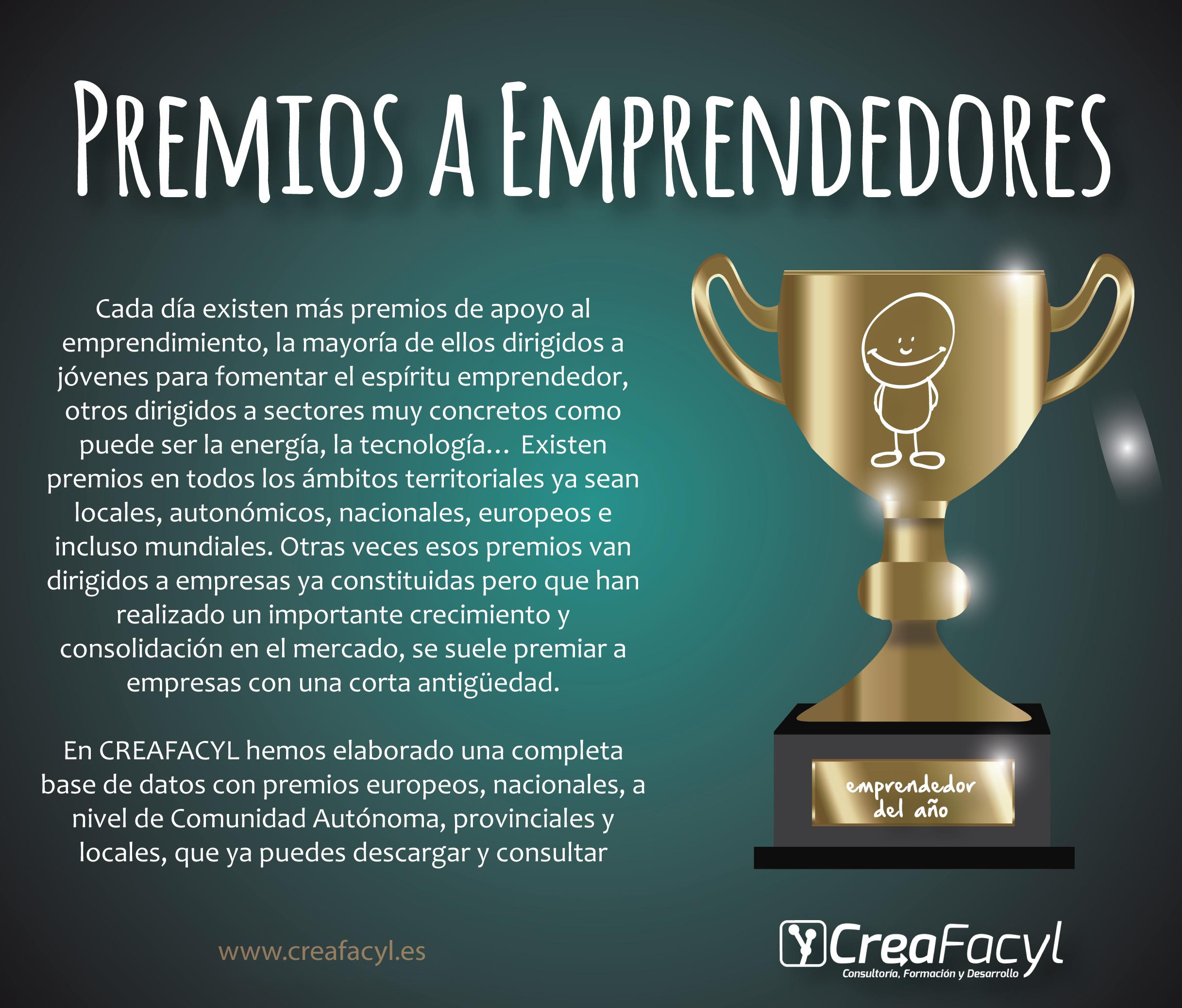 Premios emprendedores imagen Creafacyl