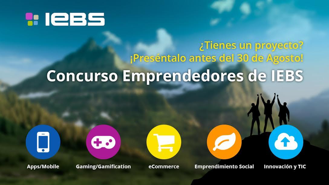 Concurso emprendedores IEBS