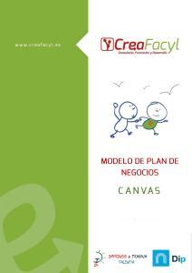 Modelo de Business Canvas Creafacyl