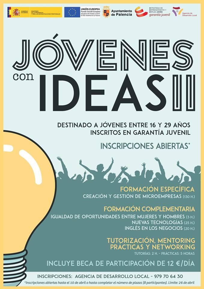 Vuelve el Programa 'Jóvenes con Ideas'